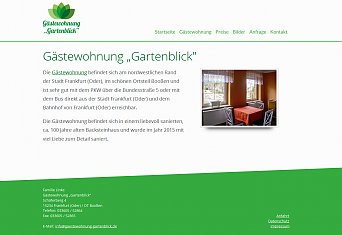 Website gartenblick